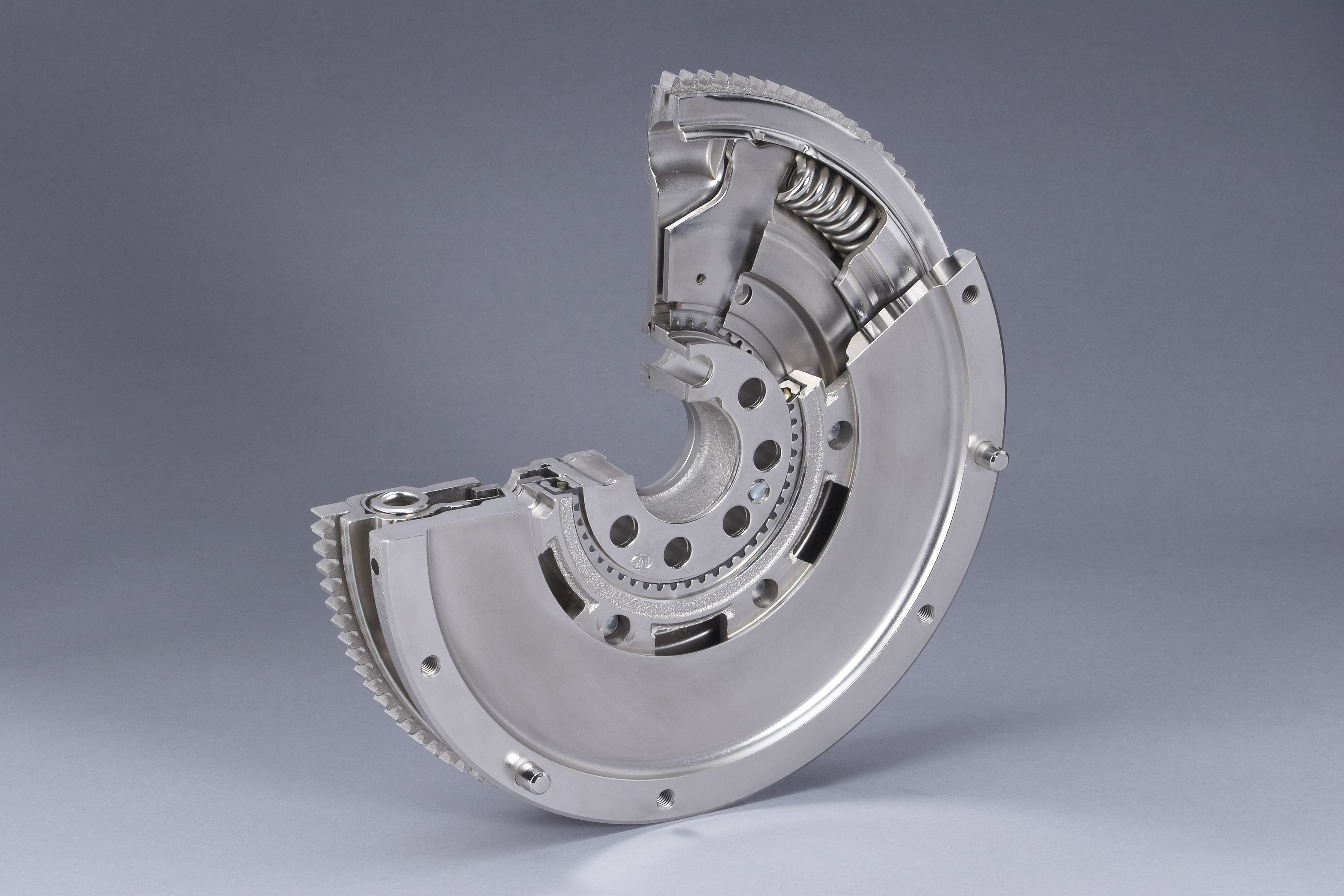The dual-mass flywheel